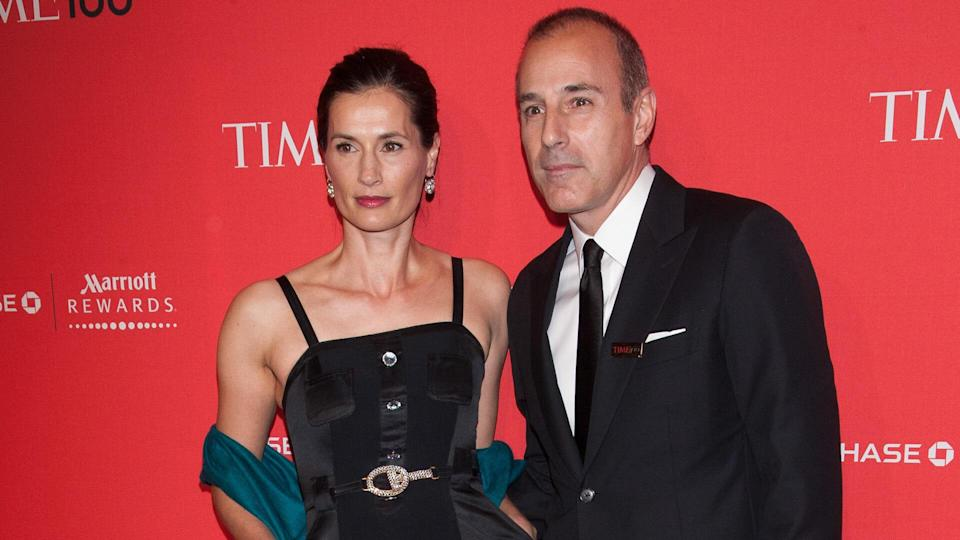 Annette Roque and Matt LauerTime magazine's 100 Most Influential People in the World Gala, New York, America - 24 Apr 2012.
