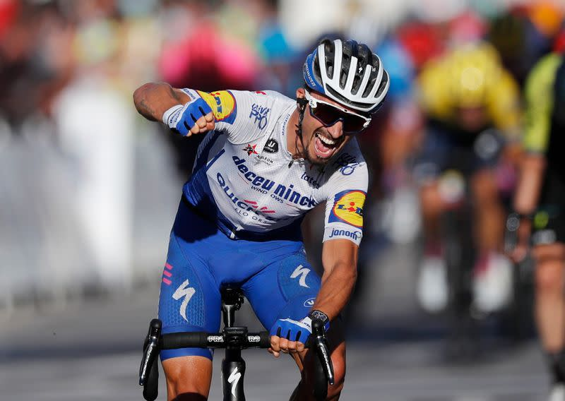 Cycling: Cold-blooded Alaphilippe does it again on the Tour de France