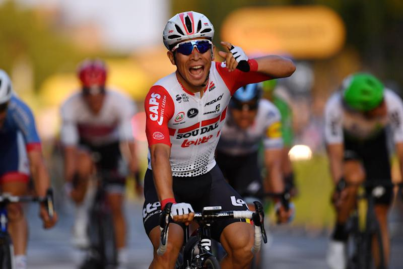 Caleb Ewan Tour de France win