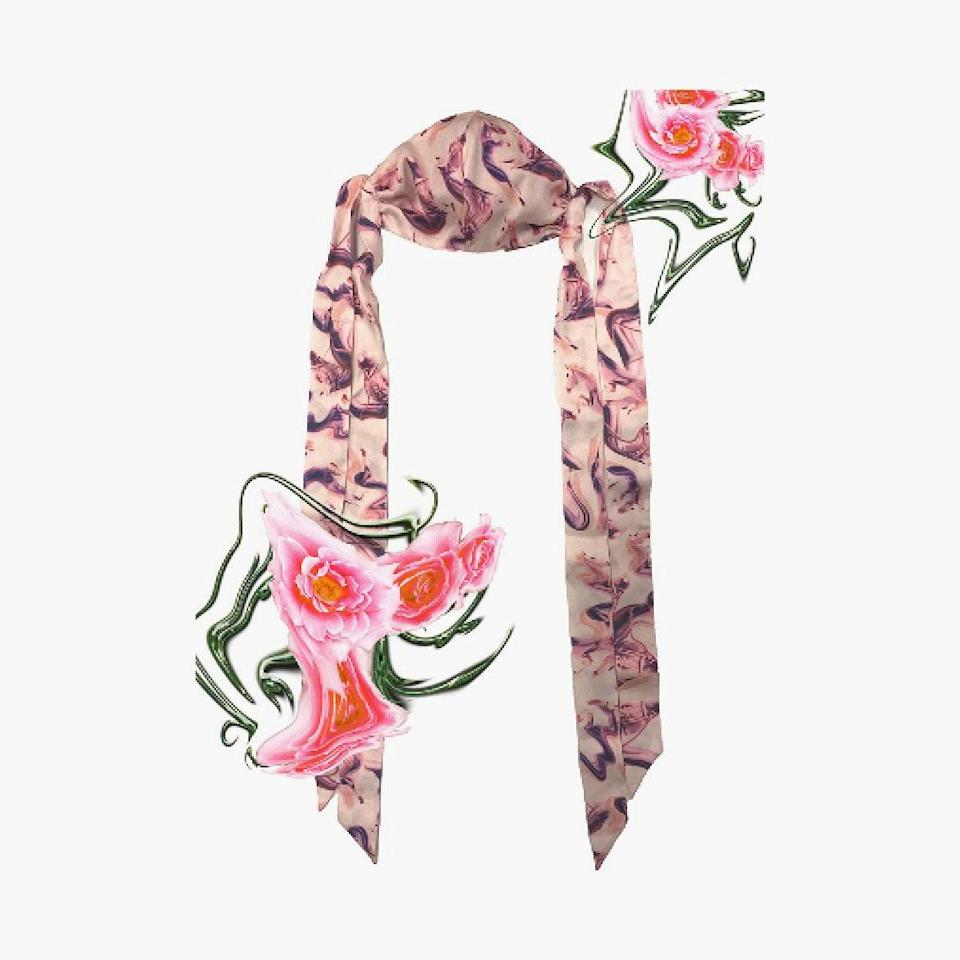 """$100, COLLINA STRADA. <a href=""""https://collinastrada.com/products/fashion-face-mask-with-bows-pony-rose-sylk?_pos=4&_sid=5236e5cae&_ss=r"""" rel=""""nofollow noopener"""" target=""""_blank"""" data-ylk=""""slk:Get it now!"""" class=""""link rapid-noclick-resp"""">Get it now!</a>"""