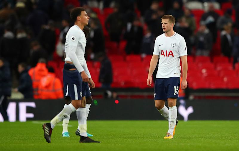 469c39f8997 Tottenham s Eric Dier has expressed his frustration at the fact that  referee Mike Jones waited until the 81st minute to book West Bromwich  Albion goalkeeper ...