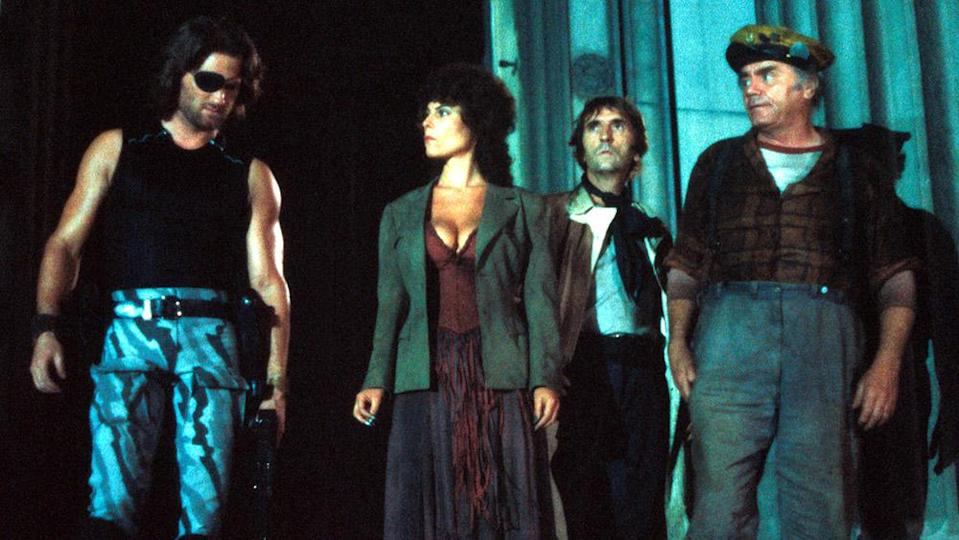 """Kurt Russell, Adrienne Barbeau, Harry Dean Stanton and Ernest Borgnine in 1981's """"Escape From New York"""" - Credit: Courtesy Everett Collection"""