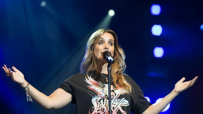Louise Redknapp forced to pull out of musical after injuring herself in fall