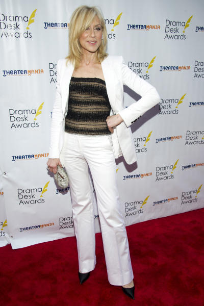 Judith Light arrives at the 57th Annual Drama Desk Awards on Sunday, June 3, 2012, in New York. (Photo by Charles Sykes/Invision/AP)