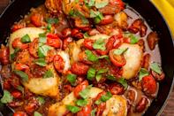 """<p>Get all your protein in the most delicious way possible—topped with cheese and bacon, loaded with garlic, or tossed in a spicy jerk spice rub. These easy keto chicken dinners will make weeknight meals way more fun! For even more keto ideas, check out our keto dinner recipes or get our new cookbook <em><a href=""""https://www.amazon.com/Keto-Carb-Lovers-Low-Carb-High-Fat/dp/1635653894/?tag=syn-yahoo-20&ascsubtag=%5Bartid%7C1782.g.4809%5Bsrc%7Cyahoo-us"""" rel=""""nofollow noopener"""" target=""""_blank"""" data-ylk=""""slk:Keto for Carb Lovers"""" class=""""link rapid-noclick-resp"""">Keto for Carb Lovers</a></em>.</p>"""
