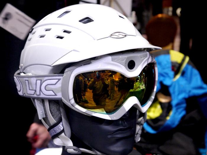 Head-mounted cameras have been a popular way to record and share extreme sports and stunts for a few years. But these high-def wonders from Liquid Image put the camera right into the ski goggles. Also, no downloading is needed, as your epic downhill run can be streamed live via Wi-Fi to any phone or computer. Radical. (Photo by Scott Ard)