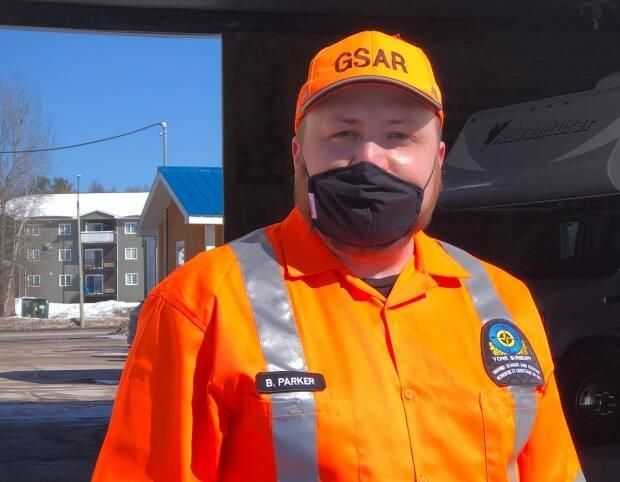 Brad Parker is the president of the York Sunbury Search and Rescue.