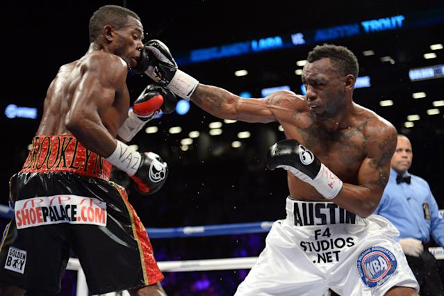 Austin Trout: 'I got woken up and the beast came out'