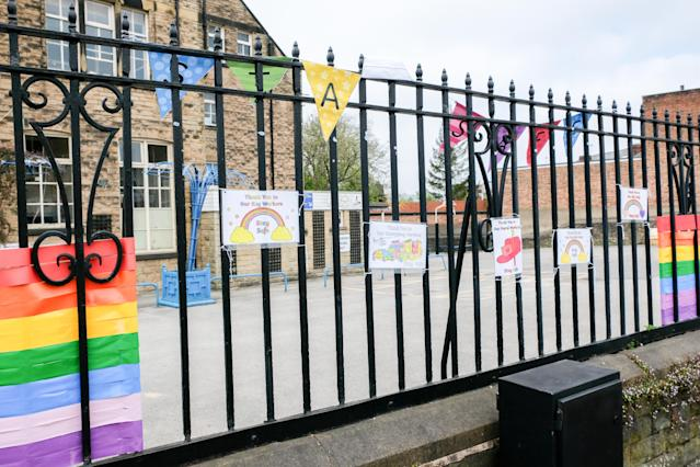 Primary schools could reopen from the beginning of June under the government's plans. (Getty Images)