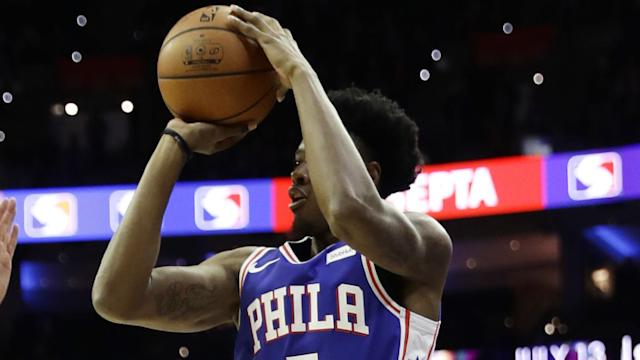 Playing two games on the same day is just part of the journey rookie Haywood Highsmith has had on his way to joining the Sixers. By Serena Winters