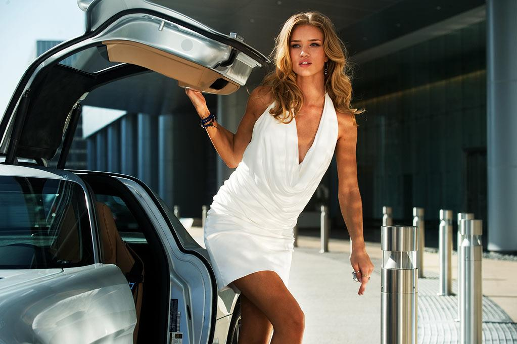 "Rosie was as surprised as anyone when she landed the film's lead role. ""I went to the audition and really I knew nothing about the role,"" Huntington-Whiteley told <a href="" http://www.mtv.com/news/articles/1666422/transformers-dark-of-the-moon-rosie-huntington-whiteley.jhtml "">MTV</a>. ""I went in completely not knowing what I was doing. I left feeling not confident."" She didn't have long to fret, though. A few days after the audition, director <a href=""http://movies.yahoo.com/movie/contributor/1800020334"">Michael Bay</a> called her up and gave her the news. ""Yeah, you're the girl,"" she recalled him saying.    ""Transformers"" wasn't the first time Huntington-Whiteley worked with Bay. They first met on the shoot for the 2009 Victoria's Secret Christmas commercial, where he reportedly <a href="" http://www.movieline.com/2011/06/thats-when-michael-bay-stranded-rosie-huntington-whiteley-in-the-desert.php "">dumped</a> her in the middle of the desert, wearing nothing but high heels, lingerie, and a cape, and had her walk, runway-style, a half-mile back to the set. A good introduction, no doubt, for working with the famously tough director."