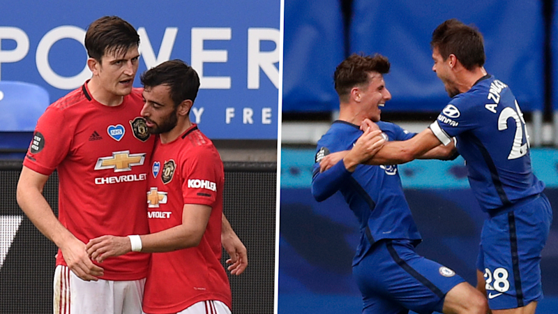 Manchester United and Chelsea confirm Champions League spots with victories in final Premier League matches
