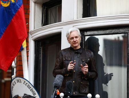 Ecuador's president says Julian Assange should leave embassy soon