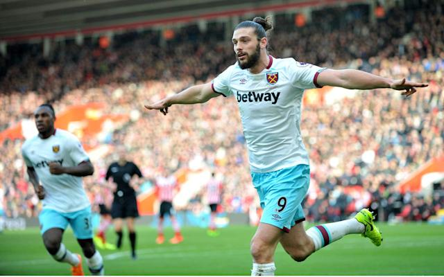 <span>Andy Carroll loves playing against Arsenal</span>