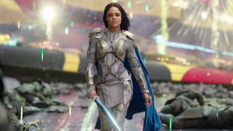 Tessa Thompson as Valkyrie (Credit: Marvel)