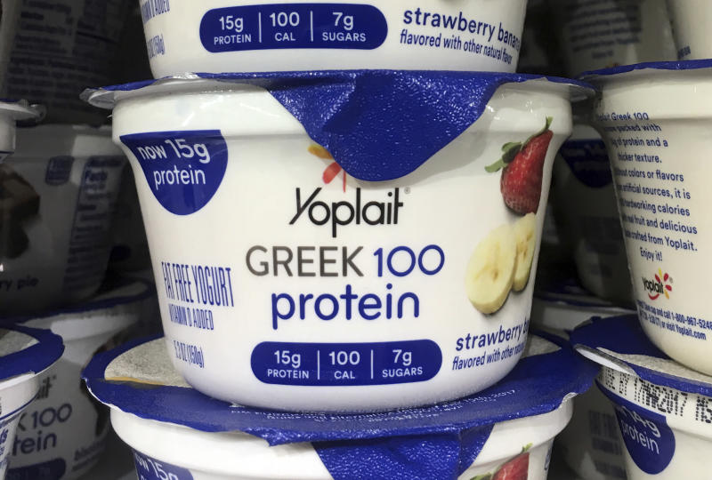 """General Mills says sales of """"light"""" yogurts hurting the most"""