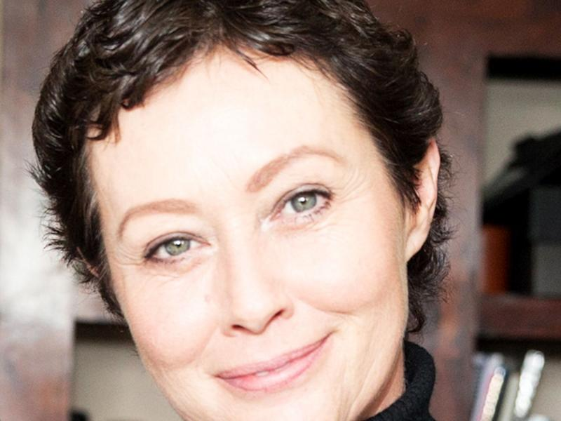 Shannen Doherty Got Her First Haircut Since Undergoing Chemotherapy