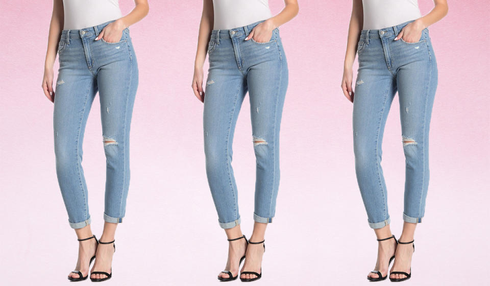 Snag 75 percent off these boyfriend jeans. (Photo: Nordstrom Rack)