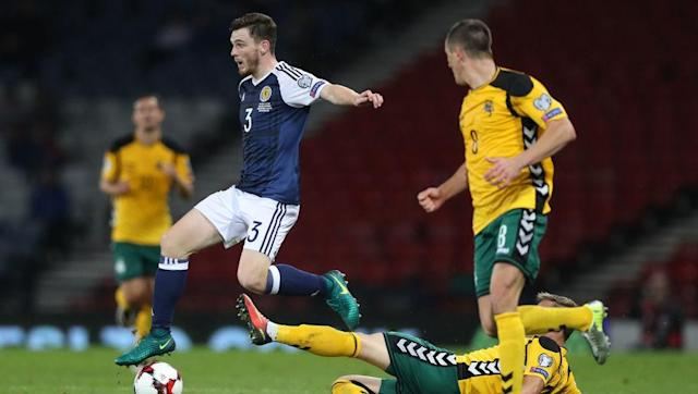 <p>Not only this, but it took an 89th minute equaliser from James McArthur to spare the blushes of Gordon Strachan's one-man misery mission that is the current Scotland national team. Nevertheless, to hold the lead at Hampden Park- even for only half an hour, is quite an achievement. </p> <br><p>In fact, this Lithuanian side are on something of an unbeaten competitive run as of late, having beaten Malta 2-0 prior to the Scotland result, but also drawing with Slovenia (as England recently did too, in one of the worst matches in history) 2-2. </p>