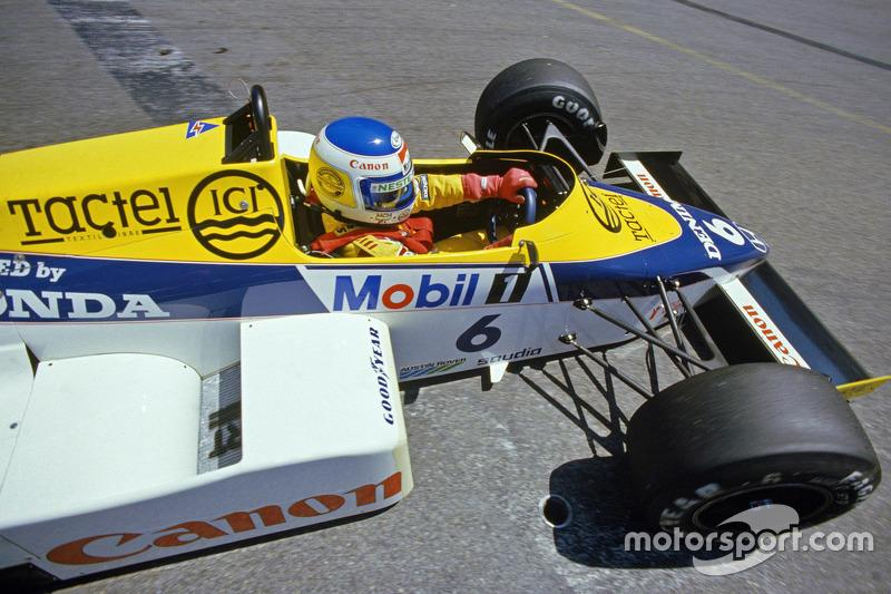 "4. Keke Rosberg - Williams FW10-Honda - GP de Estados Unidos 1985<span class=""copyright"">Williams F1</span>"