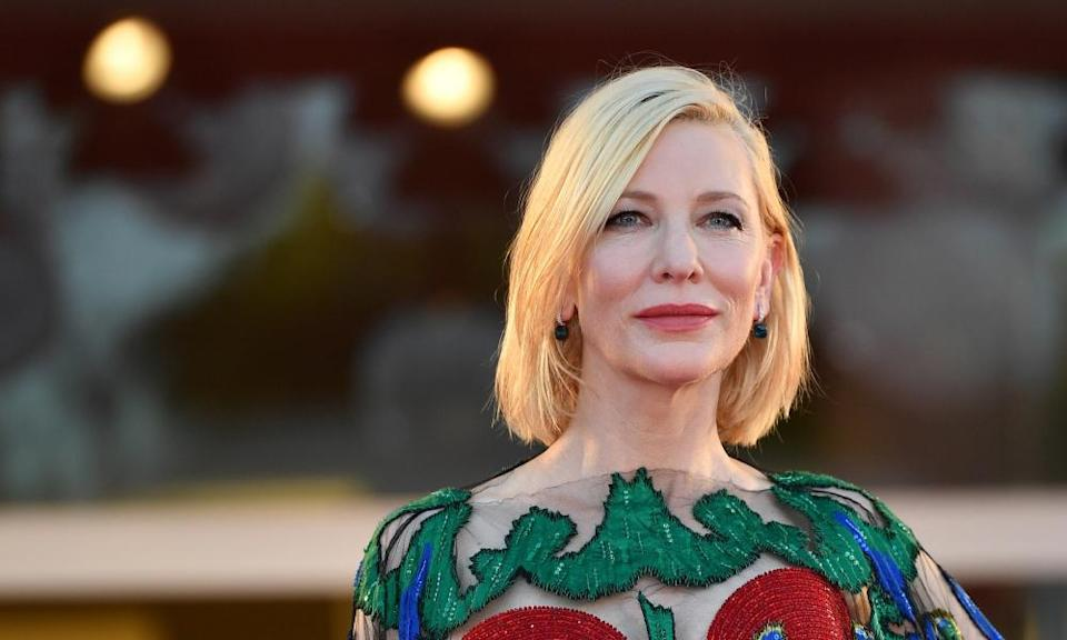 Cate Blanchett: 'The choice that really seems to divide us deeply, is that between community and economy.'