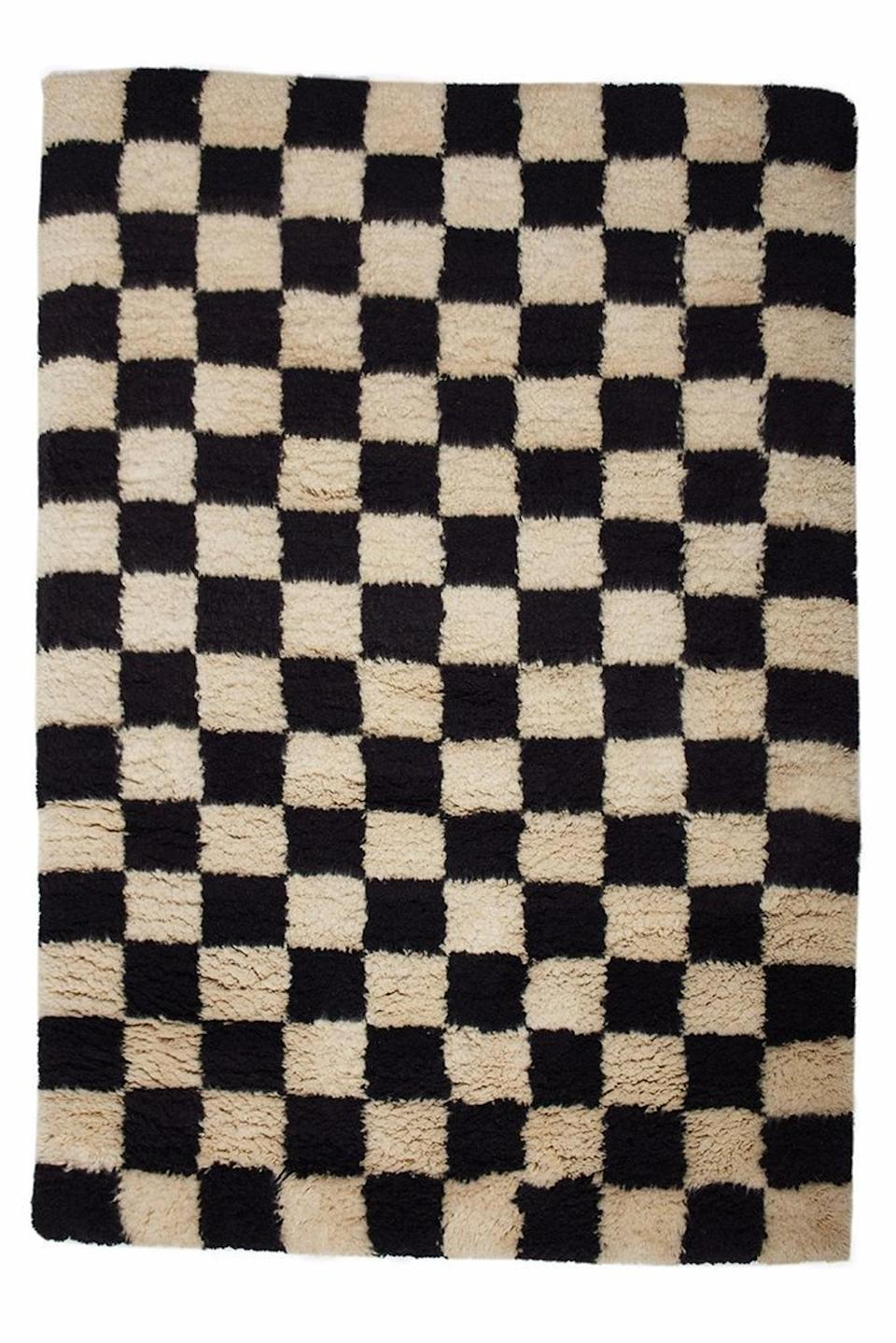 <p><span>Moroccan Checkered Runner Rug</span> ($185 and up, originally $205 and up)</p>