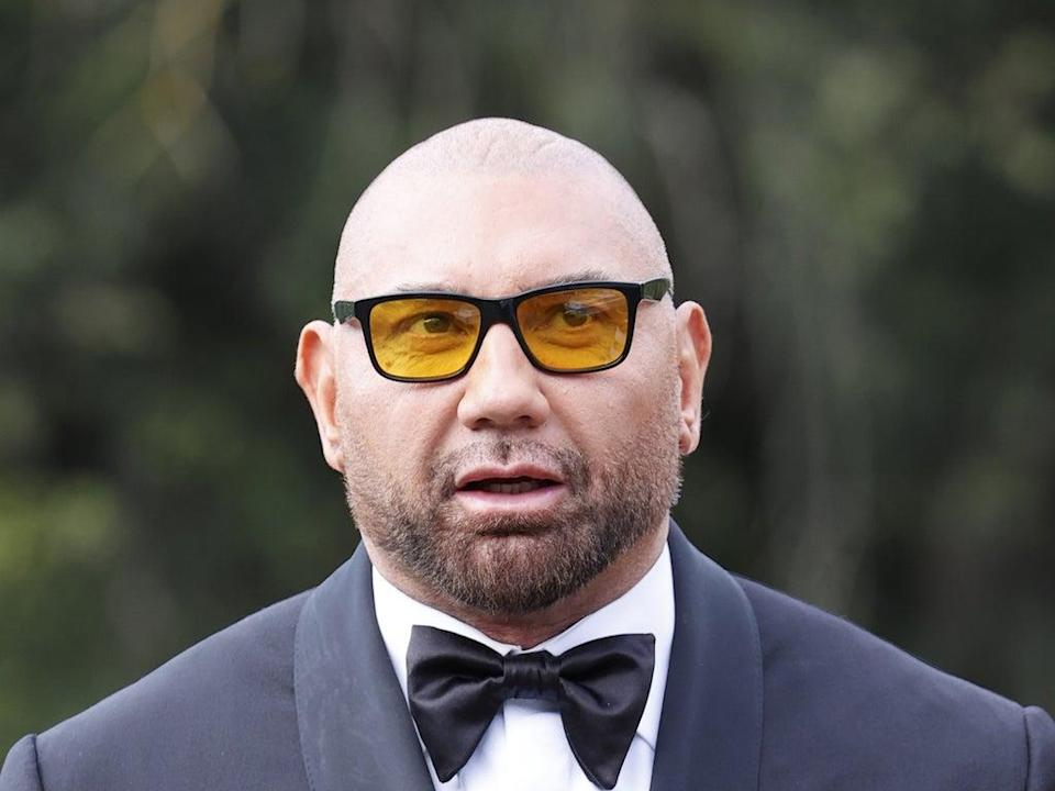 Dave Bautista says people think he is 'just a meathead' (Getty Images)