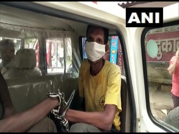 The accused arrested by police in Dhamtari, Chhattisgarh.