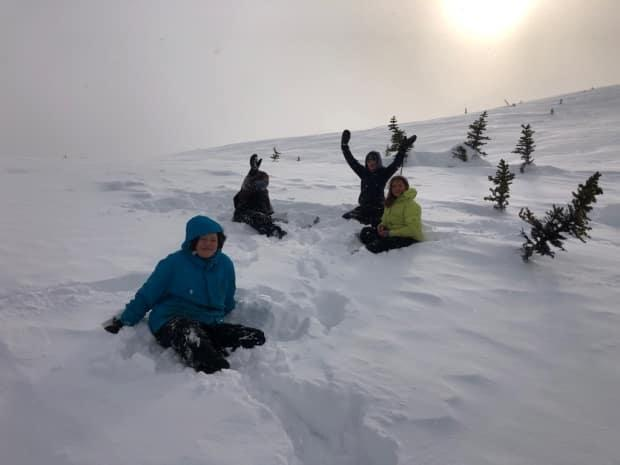 A program called Yukon Heli Ski welcomed eight students this year to its annual camp in Northern B.C.'s White Pass.