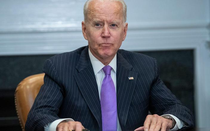 US President Joe Biden and FEMA administrator Deanne Criswell and National Security Adviser and National Security Adviser Dr. Elizabeth Sherwood Randall at the White House's Roosevelt Room in Washington, DC, on June 22, 2021. I made a statement at the meeting. -Shutterstock