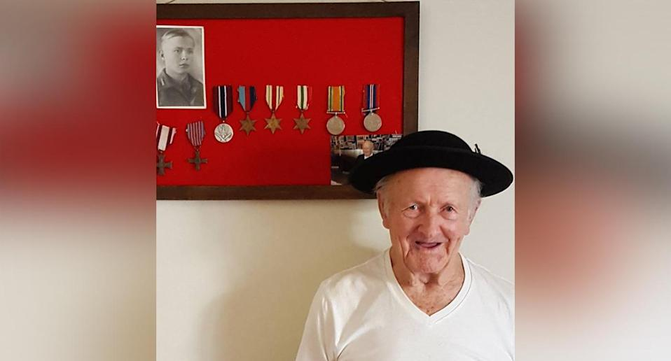 Polish world war two veteran Józef Kowalczyk (pictured) has returned to Poland