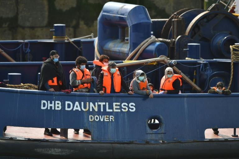 On arrival in Dover, months of administrative procedures await for Walid