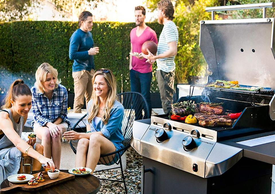 This affordable grill mat takes the work out of cleanup. Image via Amazon.