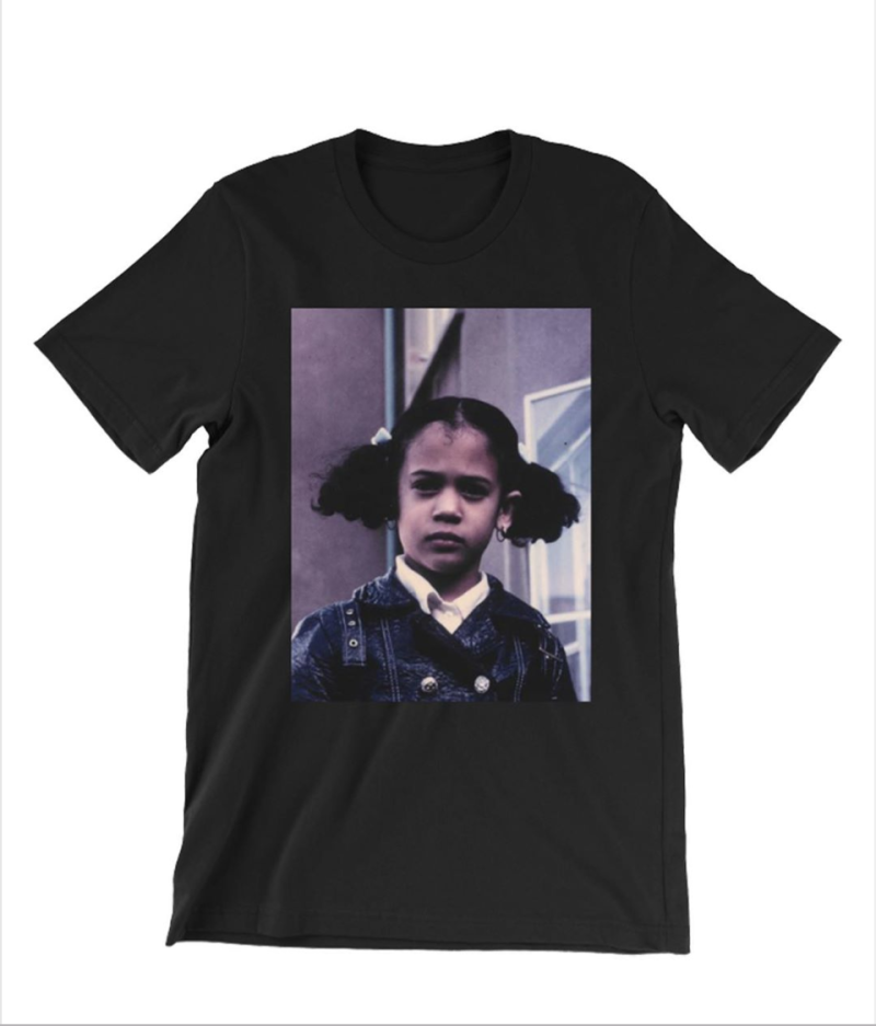 "Kamala Harris us selling ""That Little Girl Was Me"" T-shirts in reference to desegregation busing. (Photo: KamalaHarris.org)"