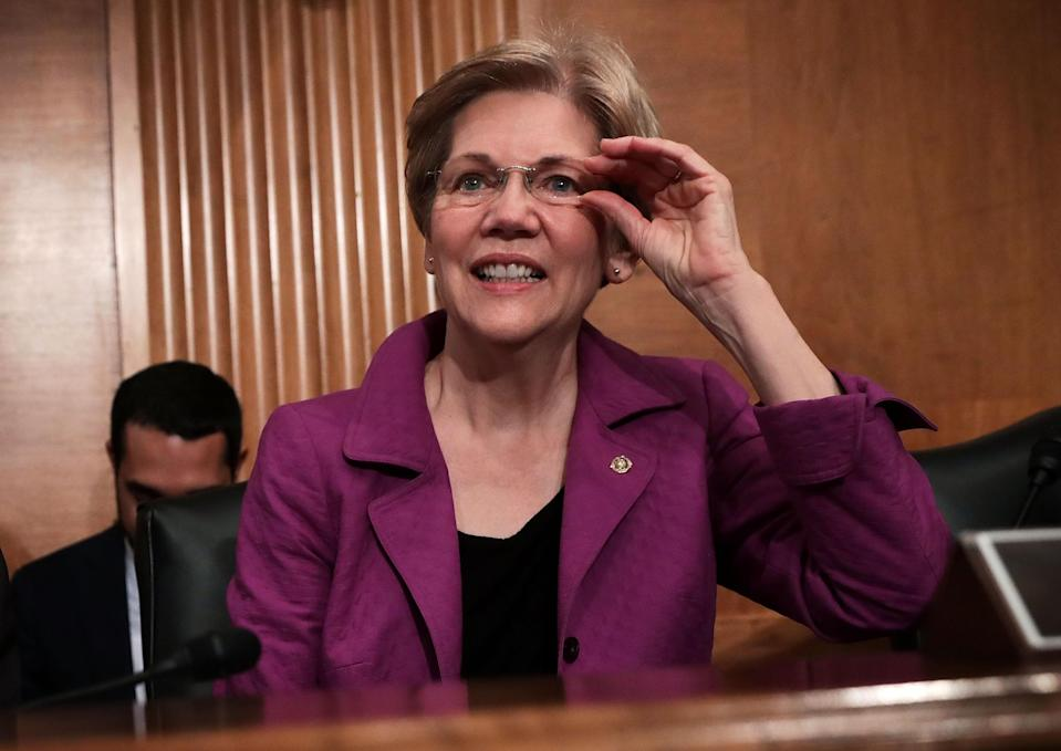 Elizabeth Warren originally proposed the creation of the CFPB. Photo by Alex Wong/Getty Images