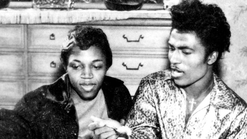 Little Richard con su esposa Ernestine Campbell
