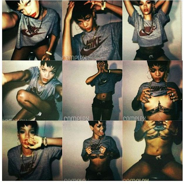 "Celebrity Twitpics: Another week, another Twitpic of Rihanna showing off her boobs. This week she tweeted these images from a magazine shoot alongside the caption: ""I'm narcissistic – but whatever, everyone does it."""