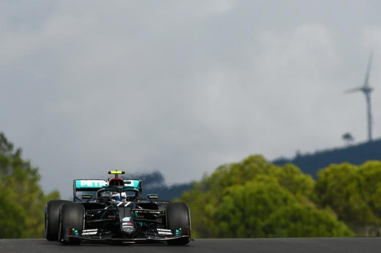 Valtteri Bottas claimed top spot in the opening practice session for the Portuguese Formula One Grand Prix.