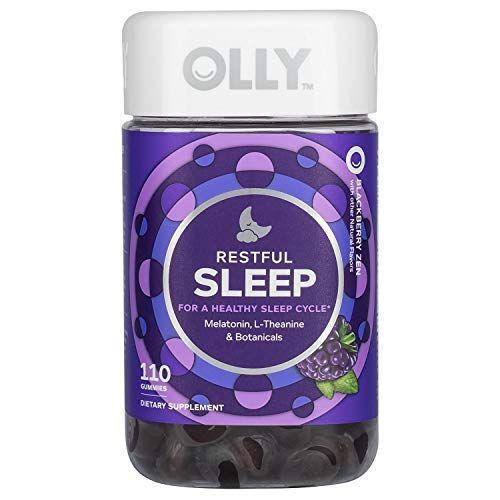 """<p><strong>Olly</strong></p><p>amazon.com</p><p><strong>$27.99</strong></p><p><a href=""""https://www.amazon.com/dp/B07KFL8VB7?tag=syn-yahoo-20&ascsubtag=%5Bartid%7C2089.g.27269473%5Bsrc%7Cyahoo-us"""" rel=""""nofollow noopener"""" target=""""_blank"""" data-ylk=""""slk:Shop Now"""" class=""""link rapid-noclick-resp"""">Shop Now</a></p><p>These blackberry-flavored sleep gummy supplements are super tasty and actually effective. Take two Restful Sleep gummies about 30 minutes before bedtime, and you will be drifting off in no time. </p>"""