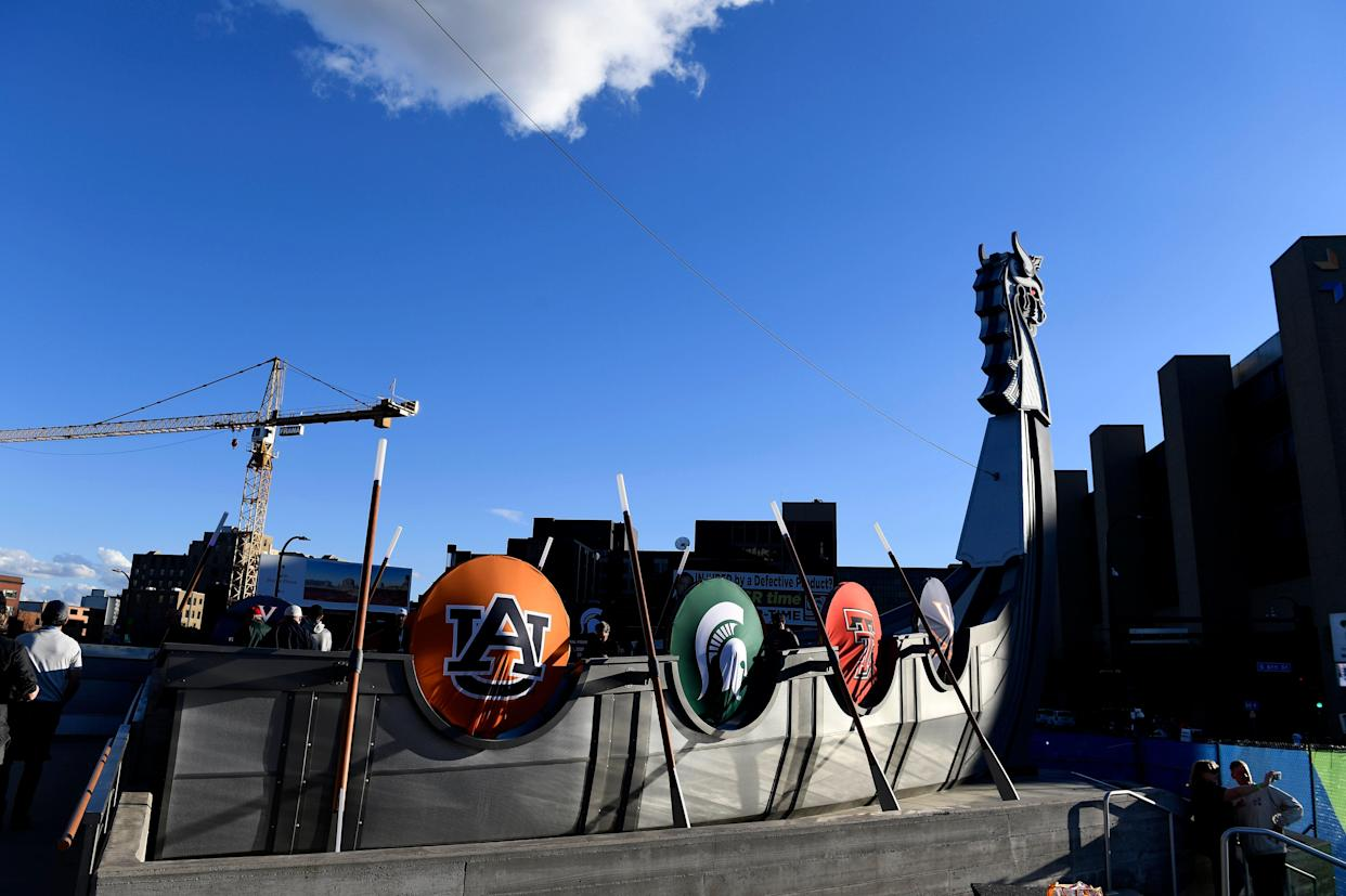 A sting at the Final Four nabbed 47 people suspected of seeking sex with minors, according to police. (Getty)