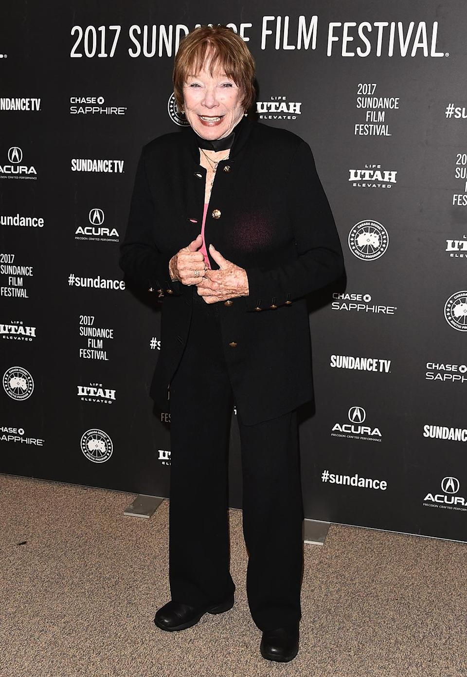 <p>The veteran entertainer attends the premiere of her new comedy, 'The Last Word,' on Jan. 24. (Photo: Alberto E. Rodriguez/Getty Images) </p>