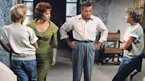 <p>In <em>The Parent Trap</em>, Hayley Mills shows that jeans, by now, weren't just for western looks or fashion-forward women. Jeans were mainstream, a go-to choice for everyday, casual looks for kids, too.</p>
