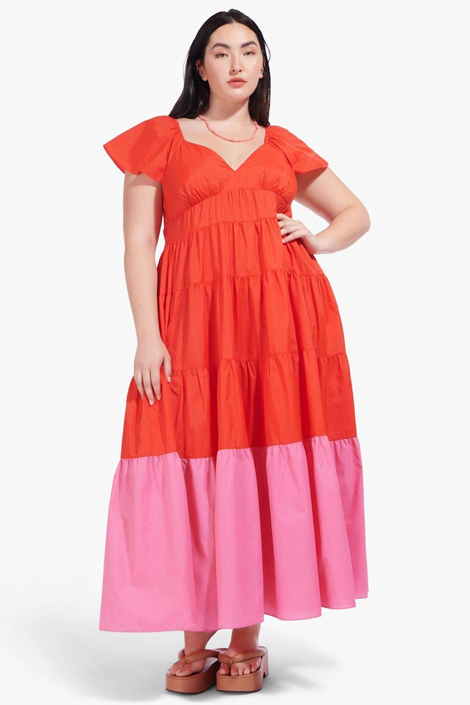 """<br><br><strong>Staud</strong> CORSICA DRESS 