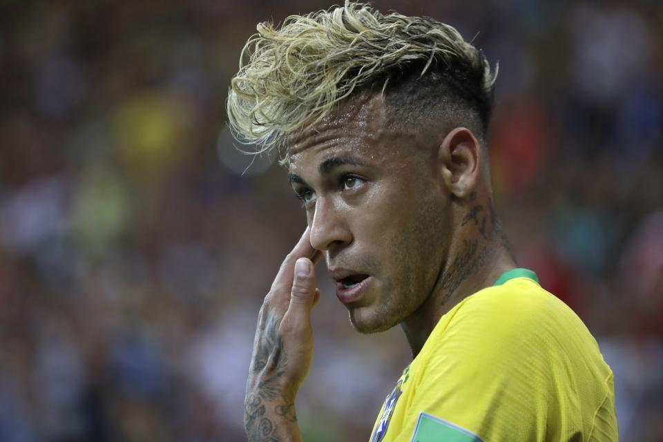 Neymar and Brazil weren't able to earn a win against Switzerland on Sunday. (AP Photo/Themba Hadebe)