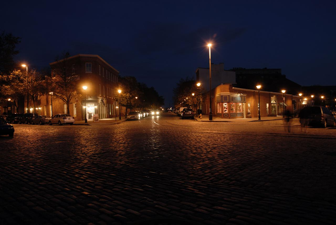 """<p><strong>What's scary:</strong> Fells Point served as Baltimore, Maryland's, port for more than 100 years and has plenty of sordid tales to tell. Legend has it that Edgar Allan Poe, a ghoulish character even while living, haunts the neighborhood, while the founders of the area, father and son William and Edward Fell, have been spotted roaming the streets more than 200 years after their deaths.</p><p><strong>Take the tour: </strong>Explore Fells Point with the <strong><a rel=""""nofollow"""" href=""""http://baltimoreghosttours.com/fellspointghosttour/"""">Original Fells Point Ghostwalk</a></strong> (<a rel=""""nofollow"""" href=""""http://baltimoreghosttours.com"""">baltimoreghosttours.com</a> or 877-293-1571), an appropriate-for-all-ages tour that walks you through the area's stories and past its ghosts. Tickets are $13 for adults and $10 for kids when you purchase ahead; on-site purchases are $15 per ticket. Tours leave at 8 p.m. on Fridays and Saturdays from July through November, with extra tours offered in October, and last between one and one-and-a-half hours.</p>"""