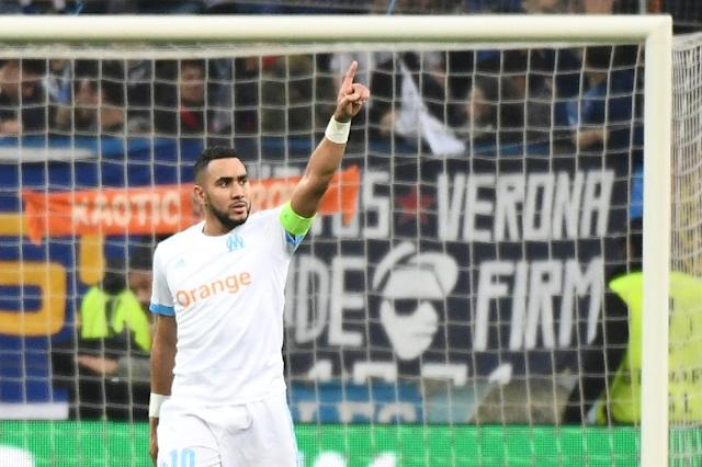 Dimitri Payet's goal was the pick of the bunch as Marseille beat RB Leipzig (AFP Photo/BORIS HORVAT)