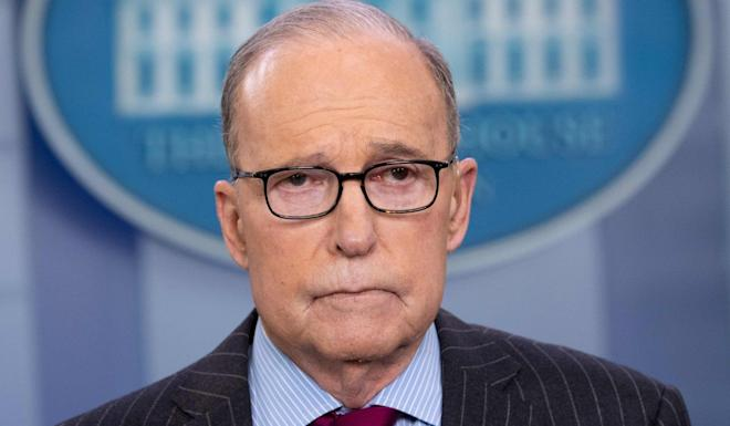 Larry Kudlow, director of the National Economic Council, said unanswered questions were mounting. Photo: AFP