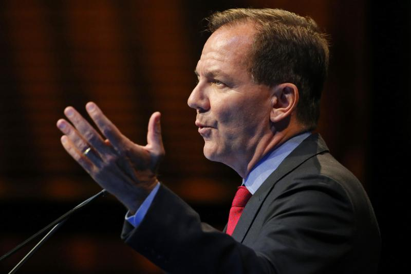 Paul Tudor Jones, founder and chief investment officer of Tudor Investment Corporation. REUTERS/Eduardo Munoz