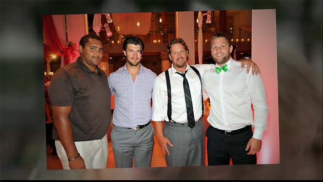 official photos 857ad 4d474 Dustin Byfuglien apparently not locked out of his ...