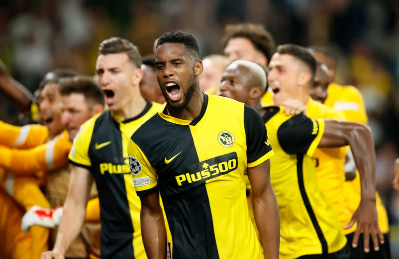 Champions League - Group F - BSC Young Boys v Manchester United
